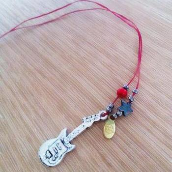 Guitar Necklace/Bracelet/Anklet (BitterSweet)